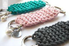 Knit Bracelet, #jewelry, #knit, #yarn