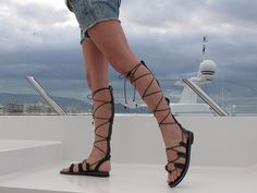 Hey, I found this really awesome Etsy listing at https://www.etsy.com/listing/228488476/gladiator-sandals-high-knee-leather