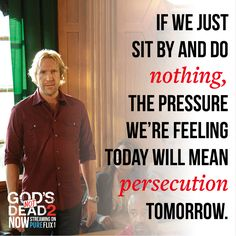 Do the right thing. Watch God's Not Dead 2 now on Start your free month - See link in bio. Beloved Movie, Inspirational Movies, Gods Not Dead, Stand Up For Yourself, Proverbs 3, Christian Songs, 2 Movie, Persecution, Christian Inspiration
