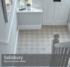 patterned victorian tiles