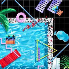 YOKO HONDA'S 80'S-INSPIRED ARTWORK