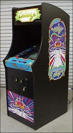 Galaga (1981) Arcade Machine.