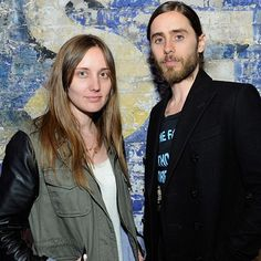 Great pic of @theblondetheory and @jaredleto #sxsw #marsiscoming
