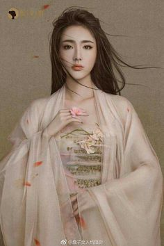 """Extremely romantic novels you should read this weekend, """"The Adventure of Holy Beast Bai Xiaoli"""" ❤❤ Traditional Fashion, Traditional Dresses, Chica Fantasy, China Girl, Chinese Clothing, Hanfu, Cheongsam, Beautiful Asian Women, Covet Fashion"""