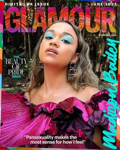 GLAMOUR June Digital Pride Issue Coverstar Madison Bailey Interview | Glamour UK Glamour Uk, Glamour Magazine, Fashion Cover, Celebs, Celebrities, How I Feel, Summer Hairstyles, Covergirl, Girl Power