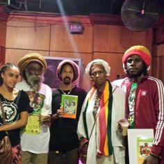 Rastafari! Young & old one & all
