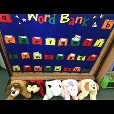 Another book nook idea, where children select a pet pillow to use during read to self