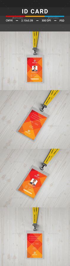 Employee ID Card - Best Marketing Company ID Card Template - id card template