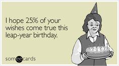 Leap-year birthday