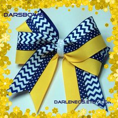 A personal favorite from my Etsy shop https://www.etsy.com/listing/246560118/blue-n-white-chevron-with-gold-and-blue