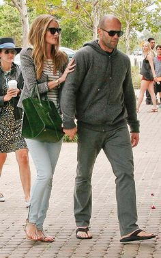 Rosie Huntington Whiteley with Jason Statham | Celebrity-gossip.net
