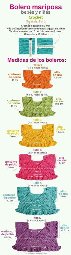 Crochet Baby Dress Delfín y Martina...