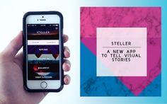 Steller, crea tu propia historia con diseño.