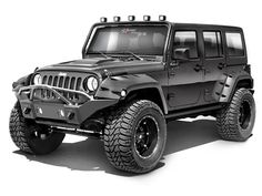 Rampage Products Marathon Bumper in Smooth Black with Grille Guard for 07-up Jeep® Wrangler & Wrangler Unlimited JK