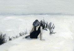 Grey Beach - lisa golightly
