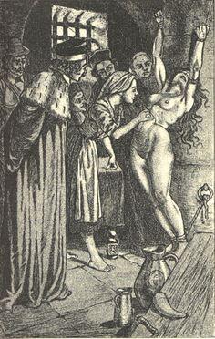 Dessins de Martin van Maële. Illustration de La sorcière, de Jules Michelet. 1911