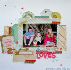 Wendi Robinson using Crate Craft Market line  for my scraps and more: My Loves.