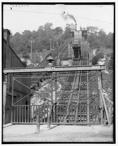 Price's Hill incline, Cincinnati, Ohio; 1906