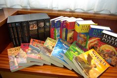 Harry Potter book series by bibicall