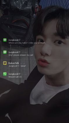 When jungkook text you