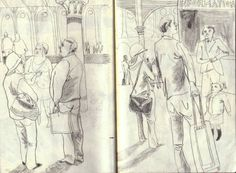 """""""York Station"""" by Emily Sutton (pencil sketch)"""