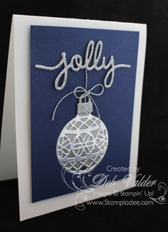 How to create a faux laser card - Deb Valder