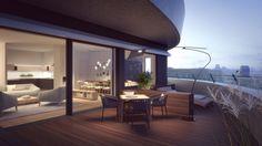 Interior visualization, still images of luxury apartment. 3d Visualization, Luxury Apartments, Still Image, Architecture, Interior, Home, Arquitetura, Indoor, Ad Home