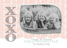 Valentines Day Photo Card  Happy by SweetBeeDesignShoppe on Etsy, $12.00