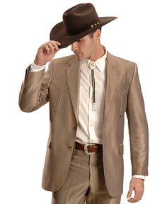 Circle S Boise Western Suit Jacket