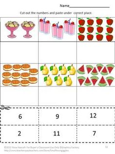 Printables Count And Match Numbers 1-20 number matching worksheets 1 20 davezan
