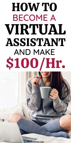 Are you looking for a side hustle or a work from home job? Then becoming a virtual assistant will be the perfect online job for you. See how to start a vistual assistance business and make money online.#earnmoneyfromhome#howtoearnmoney#waystomakemoney#onlineincome#onlinejobs#legitonlinejobs#makemoneyonline Cash From Home, Earn Money From Home, Make Money Blogging, Make Money Online, How To Make Money, How To Become, Legit Online Jobs, Online Jobs From Home, Work From Home Jobs