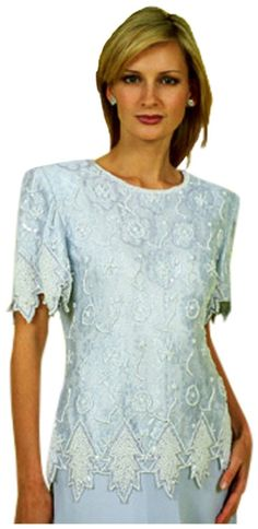 1dc66e6f7fa Mother of the Bride Dress easy Fitting Dress in Light Blue 58032 Great Tea  Length