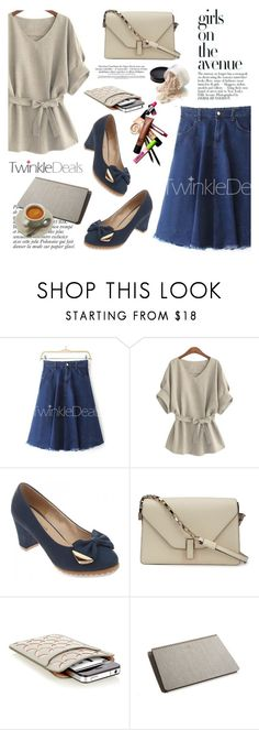 """TwinkleDeals"" by helenevlacho ❤ liked on Polyvore featuring Valextra, Avenue, Alaïa, Anja, Postalco and twinkledeals"