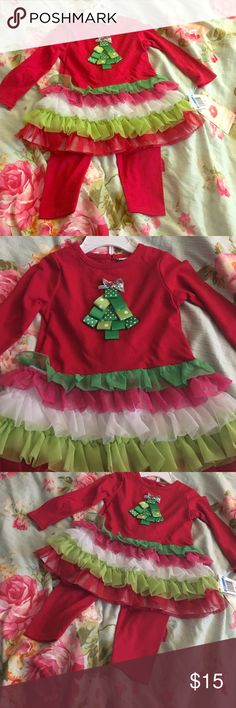 Christmas is coming! Christmas is coming! Comfy Holiday Outfit. New with tags; never warn! Sweet Heart Rose Matching Sets