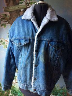 Vtg Winston Rodeo Denim Jacket Men&39s XL - 80s Trucker Jean Jacket