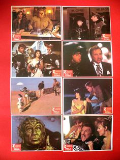 SPACEBALLS 1987 MEL BROOKS JOHN CANDY RICK MORANIS MEGA RARE EXYU LOBBY CARDS Rick Moranis, Vintage Movies, Candy, The Originals, Movie Posters, Art, Art Background, Film Poster, Kunst