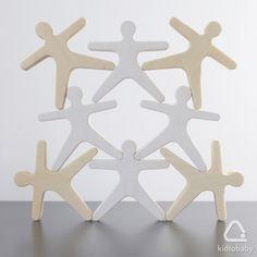Деревянная игрушка «Человечки»