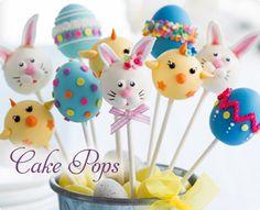 Ostergeschenke Cake Pops, auch eine schöne Idee zum Verschenken. Sie sind einfach zu süß