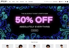 nasty gal 2018 Absolutely Everything, Cyber Monday, Banner Design, Nasty Gal, New Outfits, Black Friday, Neon Signs, Poster, Billboard