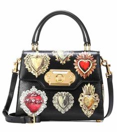 1593a46fe Welcome leather shoulder bag | Dolce & Gabbana Bolsas Artesanais, Carteira,  Sacos De Luxo