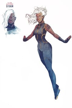 The Amateur Nerd — All New All Different X-men by Stefan Tosheff Comic Book Characters, Marvel Characters, Comic Character, Comic Books Art, Comic Art, Character Design, Univers Marvel, Batgirl, X Men