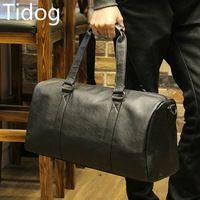 Tidog Man Portable Travel Bag Satchel leisure male bag Korean business bag