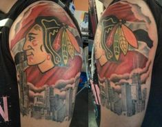 Top 20 Most Badass Blackhawks Tattoos