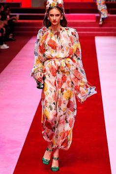 47a23d02538872 Dolce  amp  Gabbana - Floral-printed silk jumpsuit