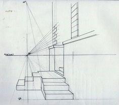 Une petite astuce révisée et complétée pour la construction d'un escalier. Je ne sais pas si cela va aider, mais je sais que souvent, plus on a de supports mieux on s'en sort. Perspective d'un escalier de profil 1. Tracez sur la ligne de sol la largeur...