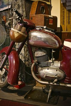 I HAD THIS! Jawa motorcycle by ryujim, via Flickr