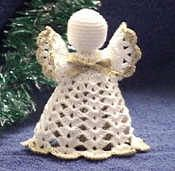 Easy Crochet Angel Patterns | Lil Potpourri Angel