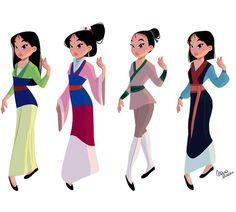 Disney Cosplay Mulan's outfits Disney Pixar, Deco Disney, Disney Fan Art, Disney Animation, Disney And Dreamworks, Disney Cartoons, Disney Movies, Disney Characters, Disney Princesses