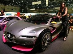 Citroen Survolt: All-electric car blends style and power for a luxury ride