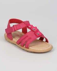 New-Girl-Jelly-Beans-Proud-Leatherette-Open-Toe-Daisy-Strappy-Flat-Sandal